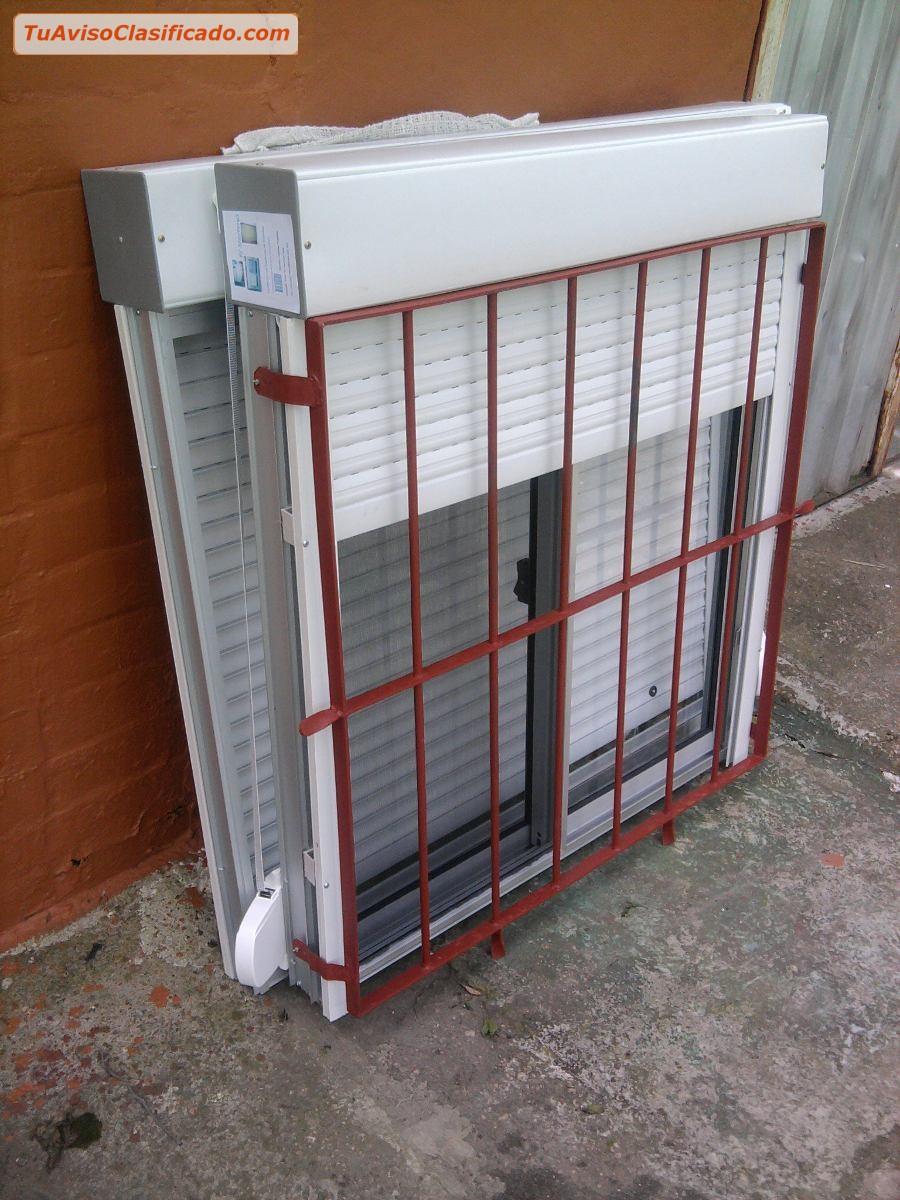 Claraboyas, rejas y ventanas de aluminio, hierro o pvc con garantia