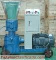Peletizadora Meelko 200 mm 15 hp PTO para concentrados balanceados 300 - 600 kg hora MKFD2