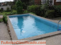 Alquilo Casita PH a 50 ms. del mar piscina,jardin,  parrilla, TV cable