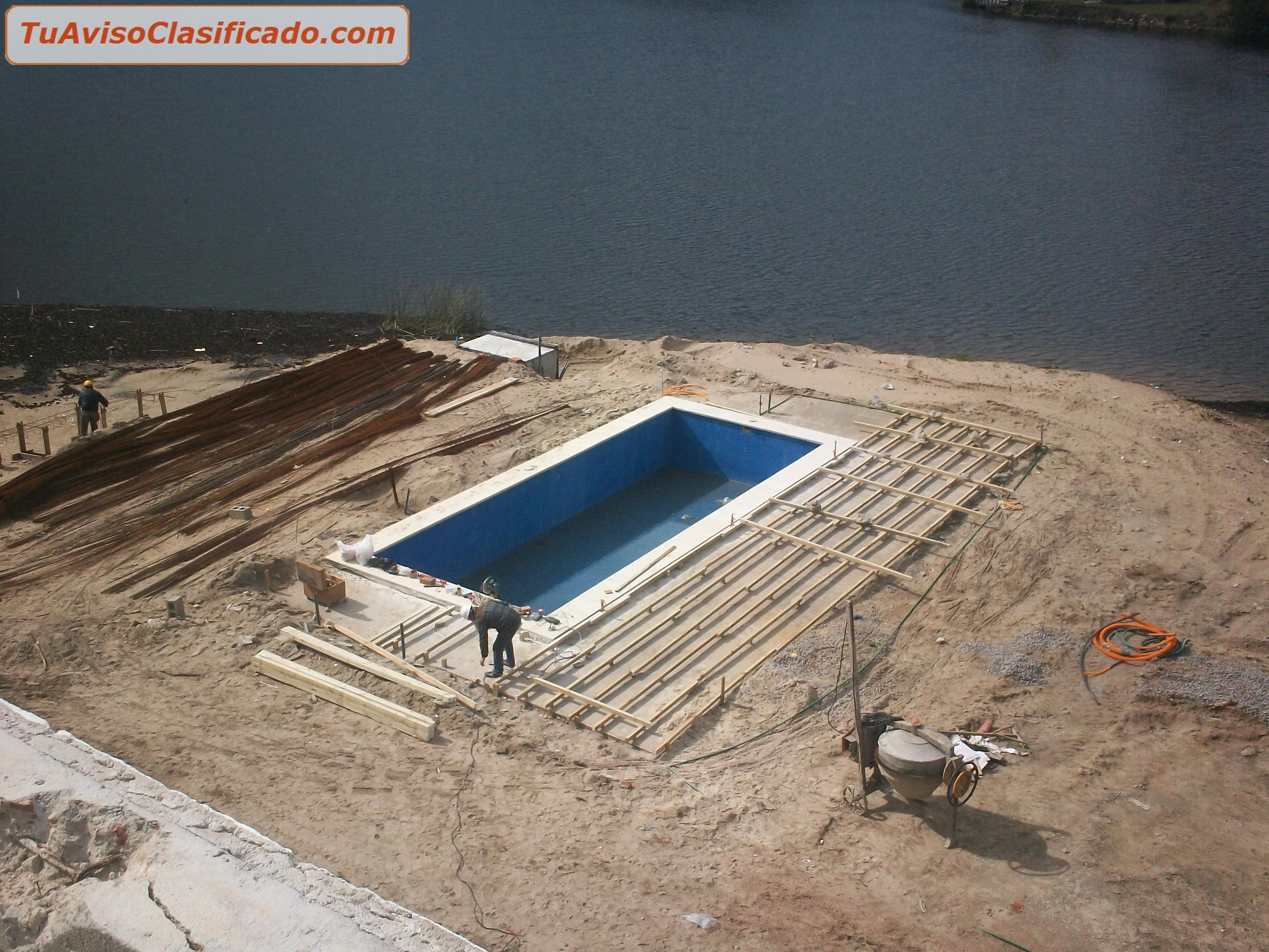 Construccion de obras y piscinas en todo el pa s con for Ver piscinas de obra