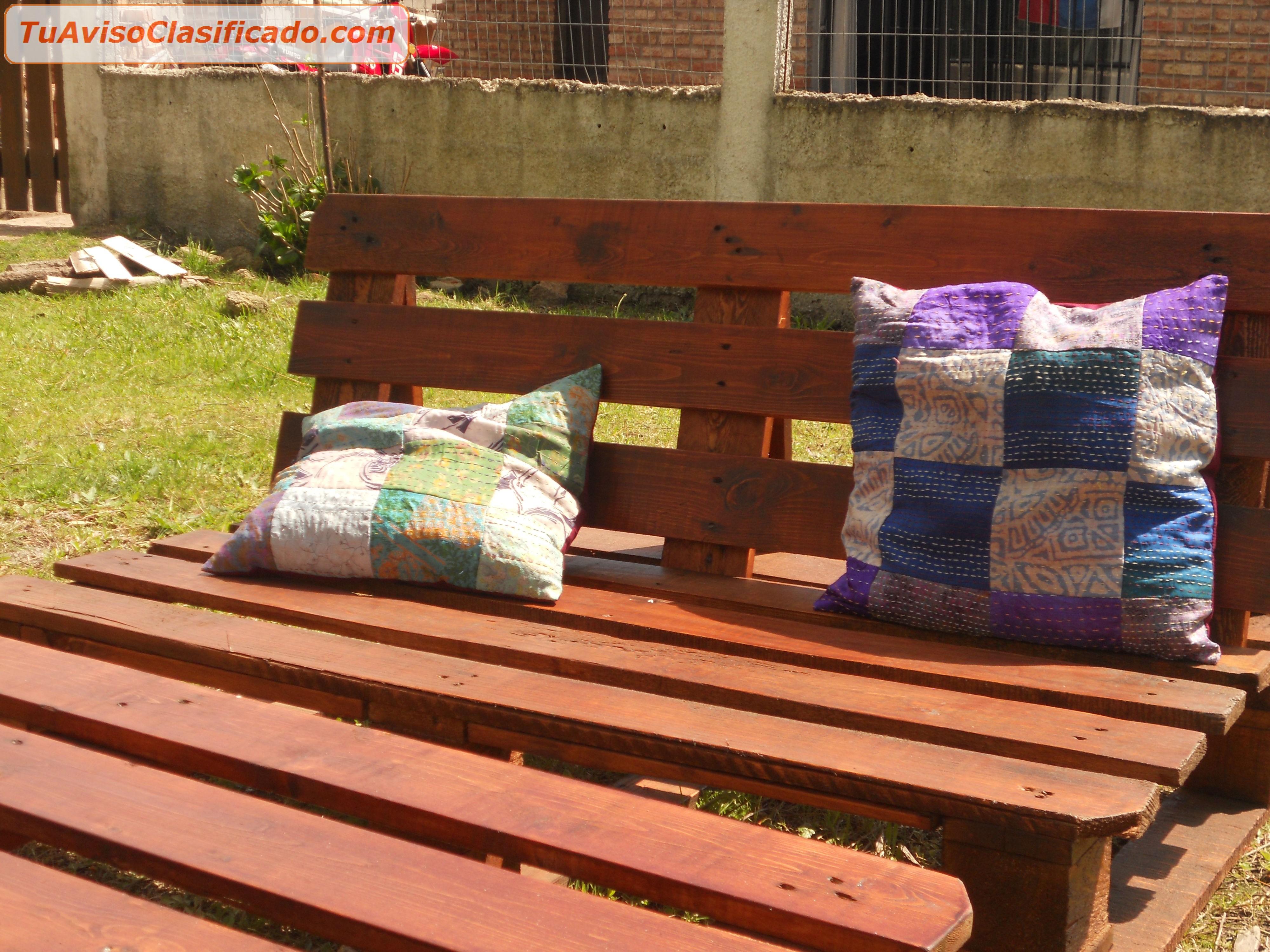 Mesa de camping con palet hogar y muebles otros dpto can for Juegos de jardin divino