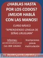 Curso básico APRENDIENDO LENGUA DE SEÑAS URUGUAYA