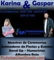 Karina y Gaspar Animación de Fiestas y Eventos Uruguay Contrataciones